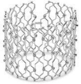 Noir Crystal Cuff Bracelet