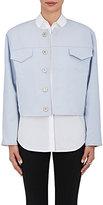 Ji Oh Women's Reversible Collarless Jacket