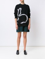 Jason Wu Intarsia Bunny Sweater