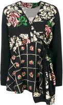 I'M Isola Marras floral tie blouse
