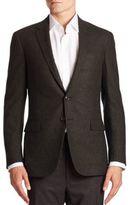 Ralph Lauren Purple Label Nigel Two-Button Wool & Cashmere Sportcoat