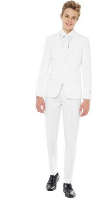 White Knight OppoSuits Two-Piece Suit with Tie
