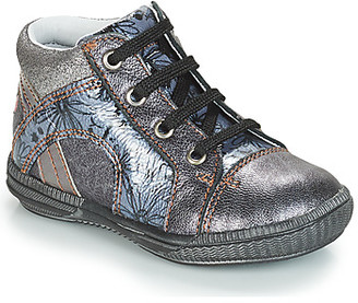 GBB ROSETTA girls's Shoes (High-top Trainers) in Silver