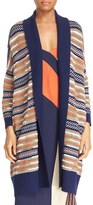 Diane von Furstenberg Taletha Open Front Long Cardigan