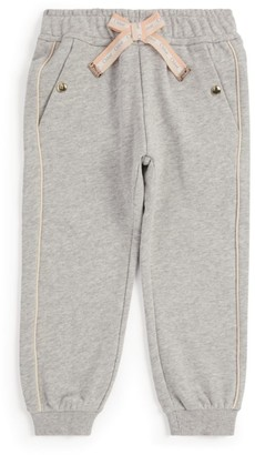 Chloé Kids Bow Detail Sweatpants
