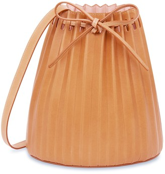 Mansur Gavriel Pleated Bucket Bag - Cammello