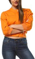 Orange Moto Jacket