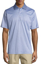 Peter Millar Jordan Striped Cotton Lisle Polo Shirt