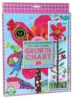 Eeboo Hot Pink Flower Growth Chart Game