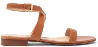 Emme Parsons Siena Ankle-strap Leather Sandals - Womens - Tan