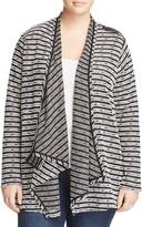 Lyssé Plus Striped Wrap Sweater