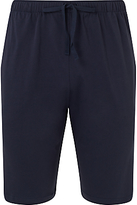 Sunspel Pima Cotton Lounge Shorts, Navy