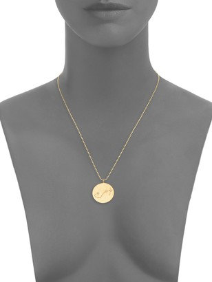 La Soula Sterling Silver & Diamond Scorpio Pendant Necklace