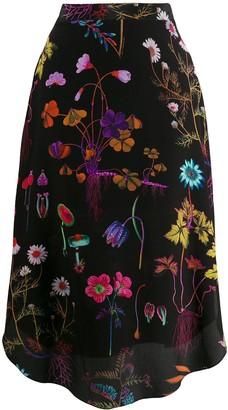 Stella McCartney Jacey silk skirt