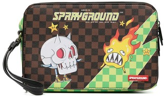 Sprayground Kid Logo Print Shoulder Bag