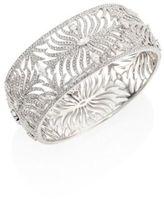 Adriana Orsini Barbara Pave Crystal Cuff Bracelet