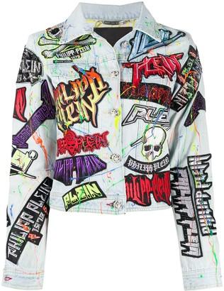 Philipp Plein Rock PP denim jacket
