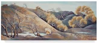 CAROL J. Trademark Fine Art Rupp 'Sunrise On The Dunes' Canvas Art