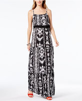 INC International Concepts Popsicle® Tiered Maxi Dress, Only at Macy's