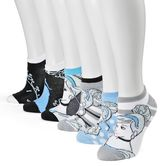 Disney 6-pk. No-Show Socks - Women