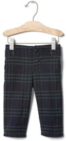 Gap Plaid flannel pants