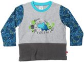Zutano Cozie Combo Top (Toddler) - Gray-4T
