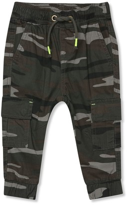 M&Co Camo print trousers (9mnth-5yrs)