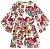 Mini Rodini Floral Print Organic Cotton Jersey Dress