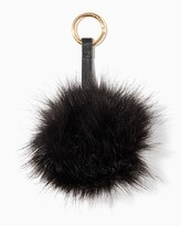 Charming charlie Furry Pom Keychain