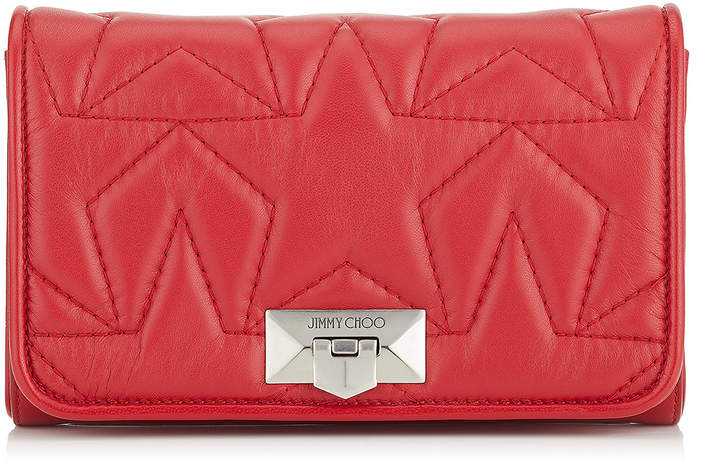 6413dfdef1b Jimmy Choo Red Leather Bags For Women - ShopStyle UK