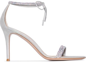 Gianvito Rossi Pascale embellished strap sandals