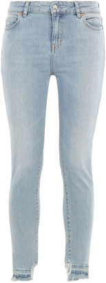 IRO Nevermind Cropped Distressed Mid-rise Skinny Jeans