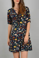 Molly Bracken Floral Print Dress