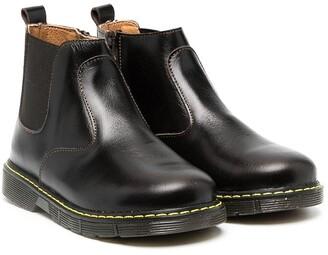 Babywalker leather Chelsea boots