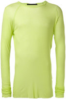 Haider Ackermann fitted top - men - Cotton/Nylon/Viscose - M