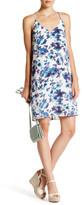 Charlie Jade Print Silk Short Dress