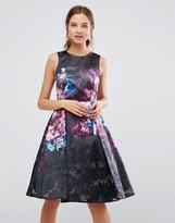 Coast Print Skater Dress