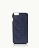 GiGi New York iPhone 6/6s Hard-Shell Case Navy Embossed Python