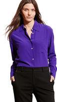Ralph Lauren Silk Long-Sleeve Shirt