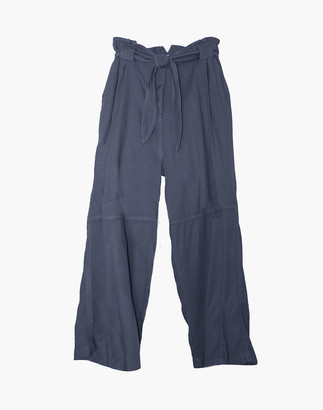 Madewell NICO NICO Knight Pleated Paperbag Pants