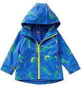 Joules Dino-Print Rain Coat