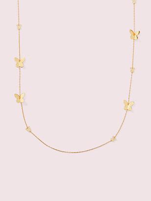 Kate Spade In A Flutter Scatter Necklace