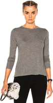 Alexander Wang Classic Cropped Long Sleeve Tee