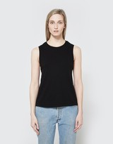 RE/DONE Muscle Tank in Black