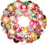 One Kings Lane Vintage Pink & Green Ornament Wreath
