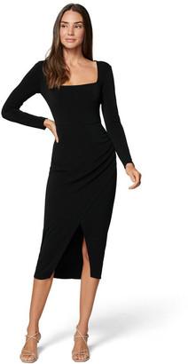 Forever New Gilda Square Neck Wrap Dress