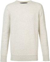 The Elder Statesman cashmere round neck jumper