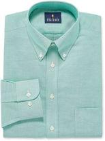 STAFFORD Stafford Travel Wrinkle-Free Oxford Long Sleeve Dress Shirt