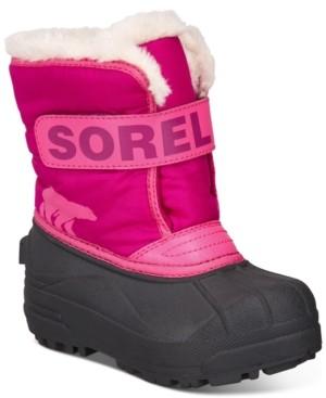 Sorel Little Girls Snow Commander Boots Women's Shoes