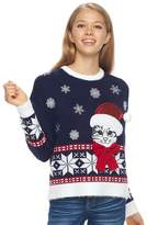 It's Our Time Its Our Time Juniors' Fairisle Sweater